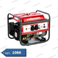Генератор бензиновий Kronwerk LK 1500 1.2кВт бак 6л ( Імопрт )