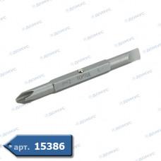 """Біта 1/4"""" PH2xSL6 L75мм (FKAA0206) ( Імпорт )"""