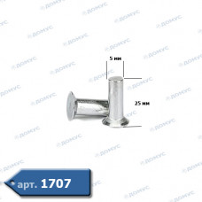 Заклепка алюмінієва ручна 5 х 25 ( Імпорт )