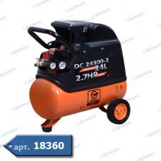 Компресор SIGMA 1,8кВт, 230л/хв, 8бар,50л, 2 крана (S7043141) ( Імпорт )