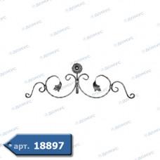 Розетка  230х740х12х6 вальцьована (13.031) ( Україна )
