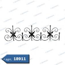 Фриз декоративний 410х1440х12/12х6 не вальцьований (15.003) ( Україна )