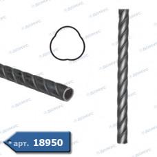 Труба кручена 3000х 21 діаметр (35.001) ( Україна )
