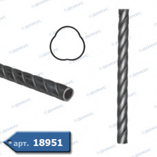 Труба кручена 3000х 33,5 діаметр (35.002) ( Україна )