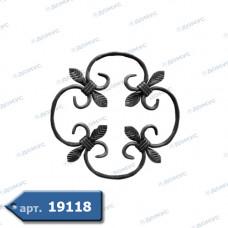 Розетка  240х240х12х6 вальцьована (13.000) ( Україна )