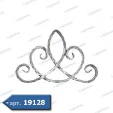 Розетка  265х420х12 вальцьована (13.065) ( Україна )