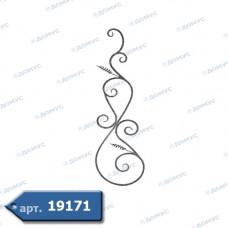 Розетка  350х1260х12 вальцьована (21.171) ( Україна )