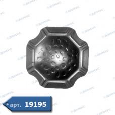 П'ятка декоративна  74х74х2 (44.017.01) ( Імпорт )