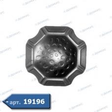 П'ятка декоративна 100х100х2 (44.020.01) ( Імпорт )