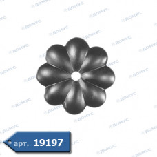 Квітка  90х2 отвір 10 (50.006.01) ( Україна )