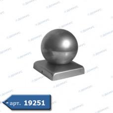 Кришка  60х60 куля 60 (62.006.06) ( Імпорт )