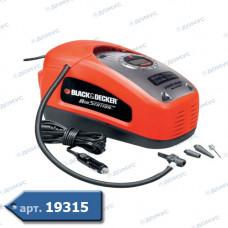 Компресор автомобільний Black&Decker акум. 12 В (ASI300-QS) ( Імпорт )