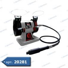 Точильний верстат FORTE  75х20х10мм 250вт (BG0725)(70331) (Імпорт)