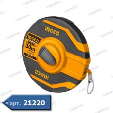 Рулетка INGCO INDUSTRIAL 30м х 12,5мм (CHSMT8430) ( Імпорт )