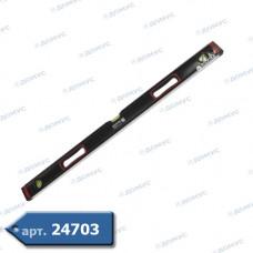 Рівень Haisser Heavy Duty 0,8м 45°/90°/180°, протиударні заглушки, точність 0,5 мм/м (26041) ( Імпорт )