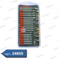 Набір пилок для  лобзика Truper 16 шт ( Імпорт )