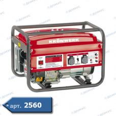 Генератор бензиновий Kronwerk LK 2500 2.2кВт бак 15л ( Імопрт )