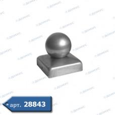 Кришка  50х50 куля 40 (62.005.04) (Україна)