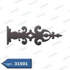 Накладка на петлі 225х615х2 (61.342) ( Україна )