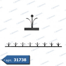 Фриз декоративний 120х1200х12х6 не вальцьований (15.004) ( Україна )