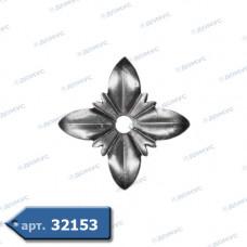 Квітка  80х1,2 отвір 8 (50.032.01) ( Україна )