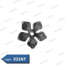 Квітка  90х3 отвір 8 (52.132) ( Україна )