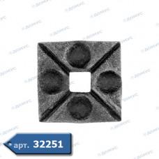 П'ятка  70х70х8 під 21,0 кв. (44.004) ( Імпорт )
