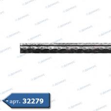 Квадрат 2000х12 з канавкой валц. (30.023) ( Україна )