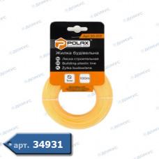 Волосінь будівельна POLAX ф1мм 100м (30-013) ( Імпорт )