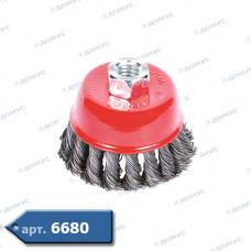 Щітка для кутової шліфувальної машинки ф 65  жорстка чаша MTX (746209) ( Імпорт )