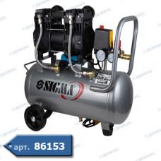 Компресор SIGMA двоциліндровий 1,5 кВт 209л / хв 8бар 30л. (S7042541) ( Імпорт )