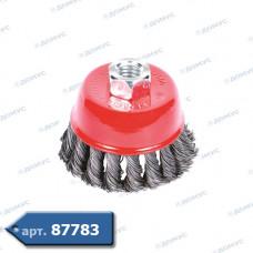 Щітка для кутової шліфувальної машинки ф 65 SIGMA чаша жорстка (S9026061) ( Імпорт )